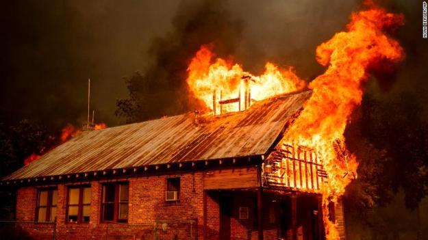 Cháy nhà mang điềm báo gì ?