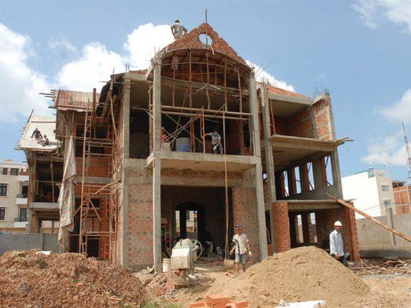 mơ thấy người khác xây nhà mới