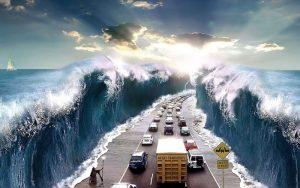 Nằm mơ thấy sóng thần nên đánh con gì?