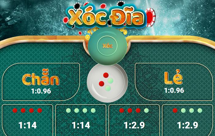 Game xóc đĩa đổi thưởng là trò chơi thịnh hành
