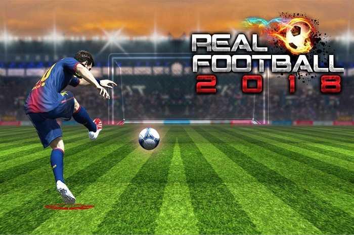 Game bóng đá Real Football 2018