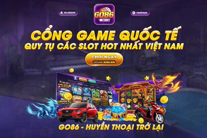 Cổng game Go86 Win club