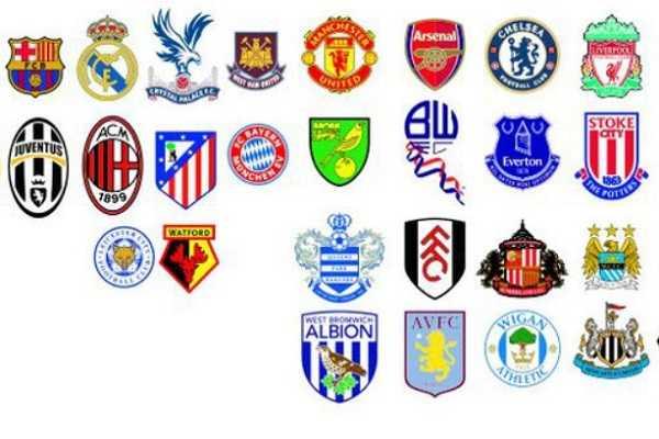 Logo 5 câu lạc bộ bóng đá được yêu thích nhất hiện nay