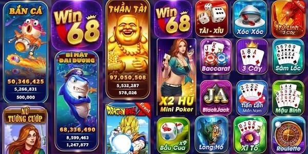 Win68 - Event tháng 6: Đăng ký game nhận ngay giftcode 50k