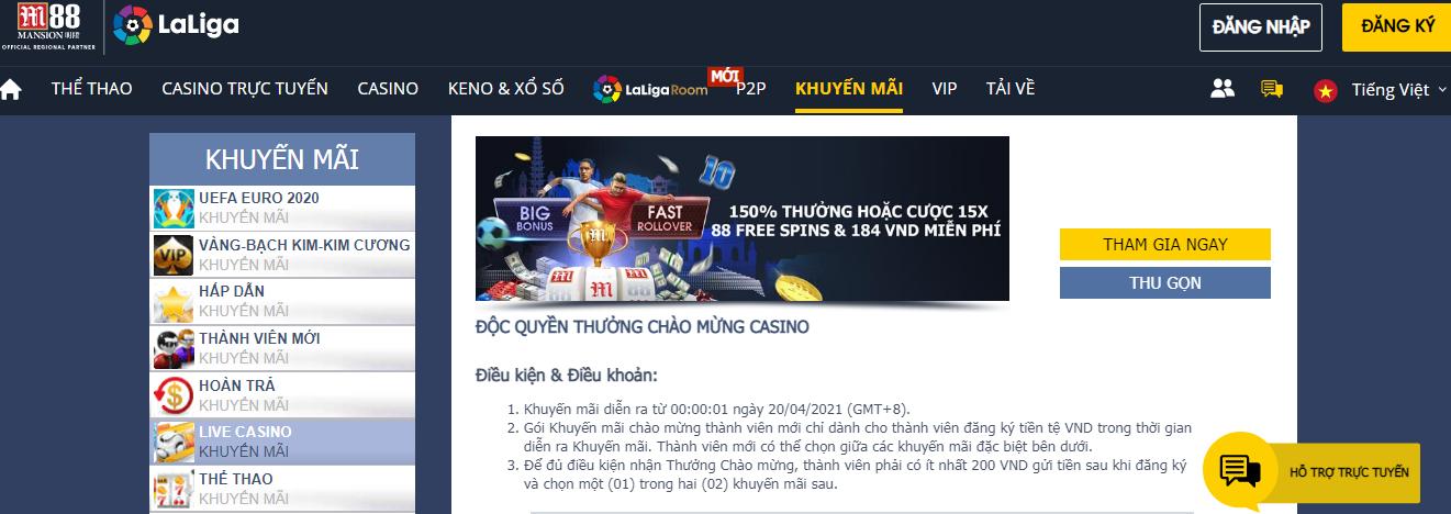 casino m88